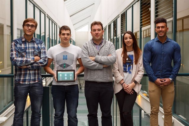 Estudiantes de la UPNA diseñan una aplicación web para enfermos de alzheimer