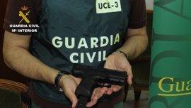 La Guardia Civil detiene a 46 personas e interviene 247 armas de fuego en una operación a nivel Europeo