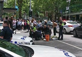 La Policía presenta cargos por asesinato contra el conductor kamikaze de Melbourne