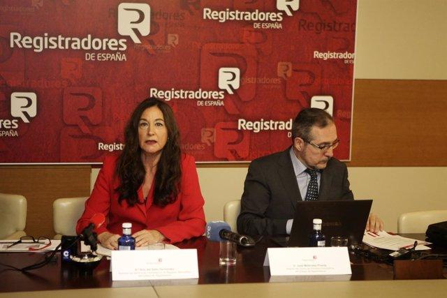 Ana del Valle y José Meléndez Pineda