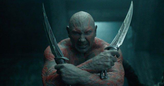 Resultado de imagen para Drax (Dave Bautista) infinity war