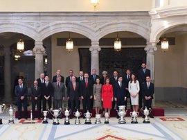 Iniesta, Beitia y la FEB reciben los Premios Nacionales del Deporte