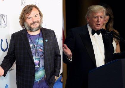 Jack Black: Donald Trump es como Charlie Sheen cuando está drogado