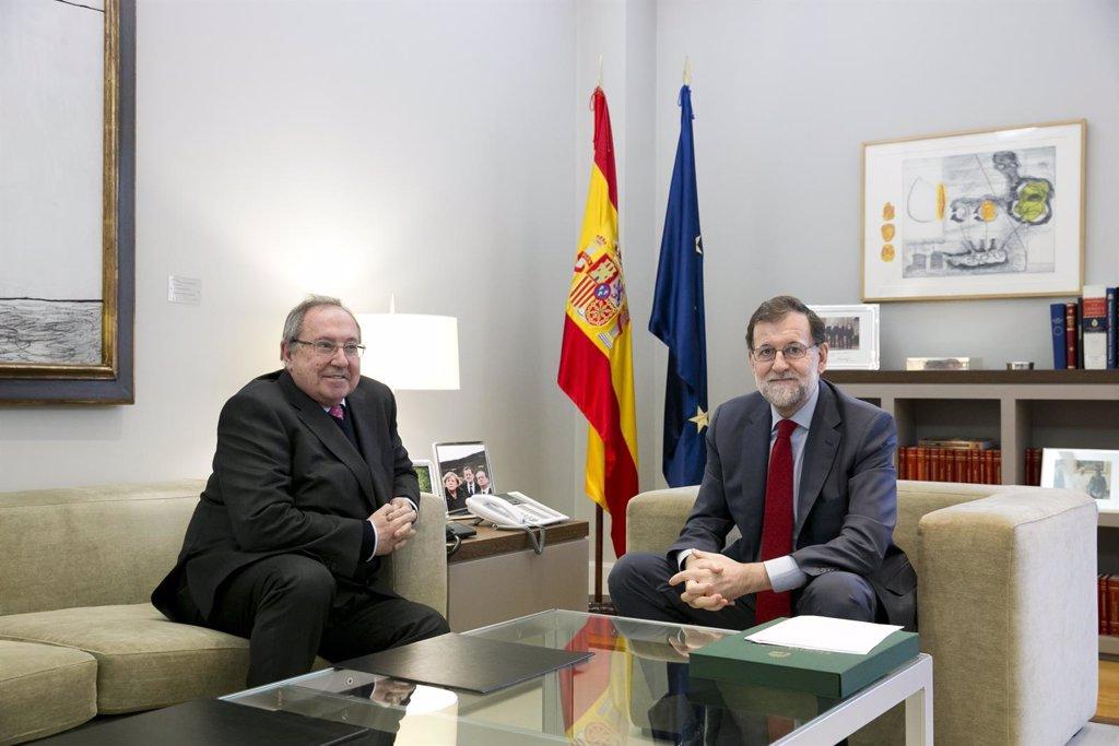 Internacionalización y competitividad de la pymes, eje central de la reunión entre Rajoy y Bonet