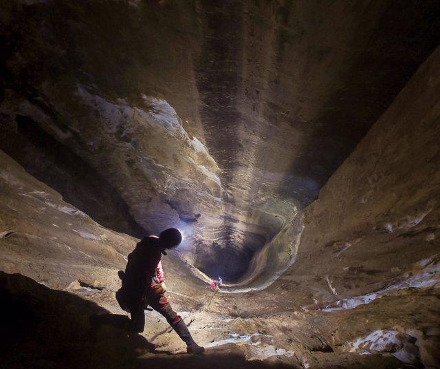 Torca del Porrón, pozo más profundo de España y segundo del mundo