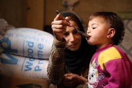 España aporta 700.000 euros al PMA para ayudar a embarazadas y lactantes en Siria