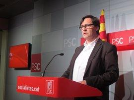 El PSC no asistirá a la conferencia del referéndum del Govern en Bruselas