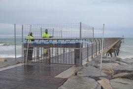 Badalona aprobará un presupuesto de urgencia ante los daños ocasionados por el temporal