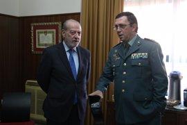 Villalobos y el coronel Mora Moret acuerdan un nuevo convenio para rehabilitar cuarteles de la Guardia Civil