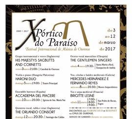 X Festival Pórtico do Paraíso en Ourense