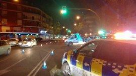 Detenido un motorista tras dar positivo en alcohol y drogas tras un accidente en Sevilla