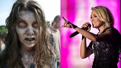 Carrie Underwood quiere ser un zombie de The Walking Dead
