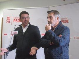 Mario Jiménez descarta que el PSOE gobierne con el PP en Canarias aunque espera que clarifique su posición