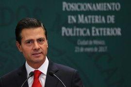 """EEUU/México.- Peña Nieto propone un diálogo sin """"sumisión"""" con Trump"""