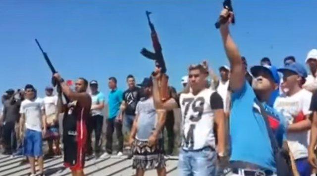Reos disparan al aire en el funeral de 'El Conejo', Venezuela, 2016