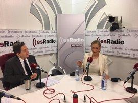 """Cifuentes sobre presidir PP de Madrid: """"En estos momentos una bicefalia tiene muchos incon"""