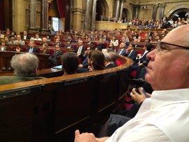 """Rabell (SíQueEsPot) anuncia un """"gran acto"""" del Pacte Nacional pel Referèndum en Sant Jordi"""