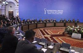 Rusia, Turquía e Irán acuerdan un mecanismo para supervisar el alto el fuego en Siria