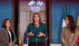 "Susana Díaz urge a activar ""cuanto antes"" el plan de emergencia para atender a refugiados"