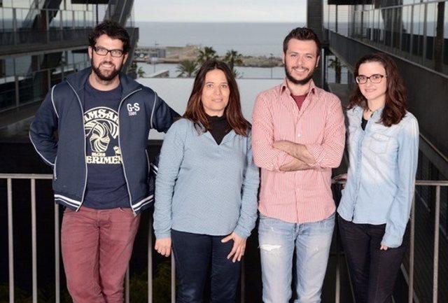 El equipo de la científica Elena Bosch.