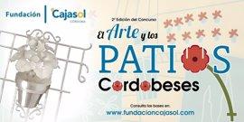 La Fundación Cajasol convoca el II concurso 'El Arte y los Patios Cordobeses'
