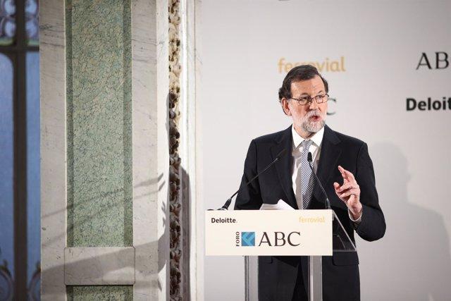 Rajoy en el Foro ABC