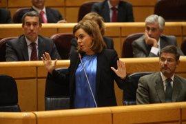 Santamaría dice que PSC, PP y En Comú Podem son también voz de Cataluña como ERC y PDeCAT