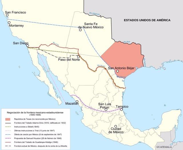 Fronteras México EEUU
