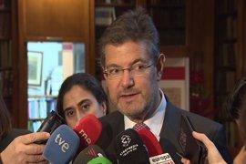 Catalá apuesta por seguir con reformas en Justicia para afianzar la seguridad jurídica