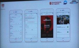La app Logroño.es incorpora pago a través del móvil, Smart Parking o paseos saludables