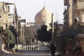 Bombarderos rusos atacan las posiciones de Estado Islámico en Deir Ezzor