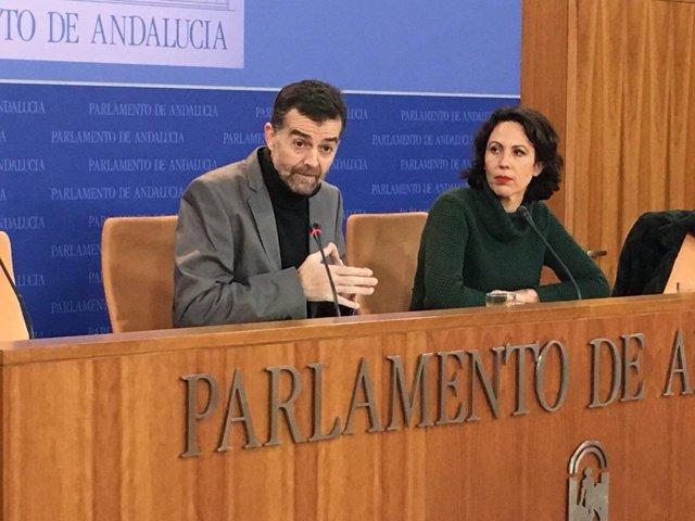Antonio Maíllo y Eva García Sempere