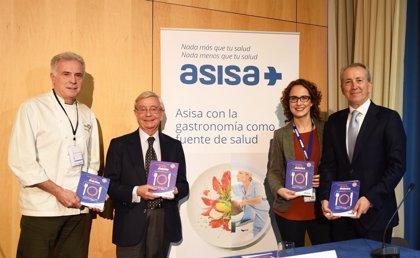 ASISA reúne en un libro 14 menús para personas con diabetes elaborados por cocineros españoles