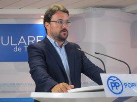 """Antona espera que la candidatura de Cardona para liderar el PP canario sirva para """"sumar"""""""
