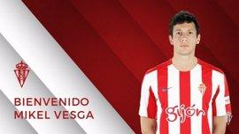 El Sporting refuerza su centro del campo con la cesión de Mikel Vesga