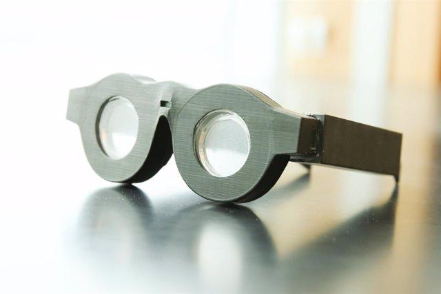 Gafas inteligentes que enfocan solas