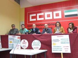 CCOO convoca concentraciones para pedir a la Consejería de Educación que suprima la convocatoria de empleo docente