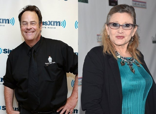 Dan Aykroyd, Carrie Fisher
