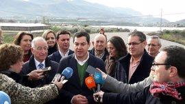 """Moreno dice que la Junta es """"un tapón"""" para el desarrollo de Berja y critica que la variante sur no se termine"""