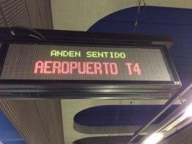 """La primera jornada con la L8 de Metro cerrada se desarrolla con """"total normalidad"""" y sin incidentes, según el Consorcio"""