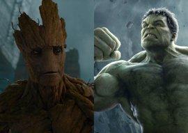 Vin Diesel quiere un 'Hulk vs Groot' en Vengadores: Infinity War