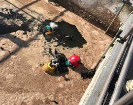 Localizan en una balsa el cadáver del trabajador de la depuradora de Teulada al que se buscaba desde ayer