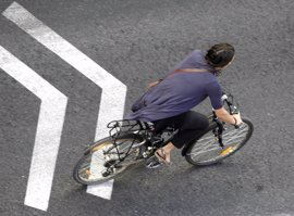 La nueva Ordenanza de Movilidad de Pamplona propone bajar las bicis a la calzada