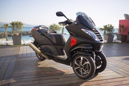 Peugeot Scooters inicia la comercialización de su tres ruedas Metropolis ABS