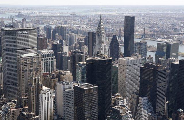 Vista general de Manhattan, Nueva York, Empire State