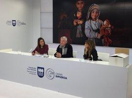 Colegios de Gipuzkoa participarán en el proyecto Rezink Refugees para sensibilizar sobre el drama los refugiados