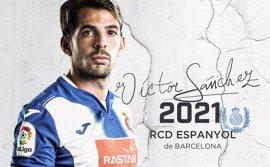 Víctor Sánchez renueva con el RCD Espanyol hasta 2021