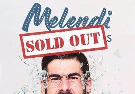 Melendi, número 1 en España por quinta semana consecutiva con Quítate las gafas