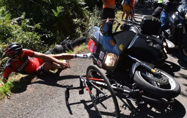 Accidente de ciclista