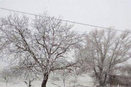Albacete, Cuenca y Guadalajara estarán este viernes en riesgo por nevadas